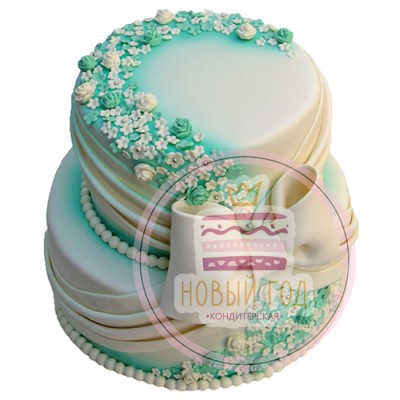 Торт «Свадьба в саду»