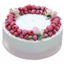 Торт «Малиновая сказка»