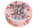 Торт для влюбленных «Рыбаки»