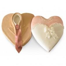 Торт «Два сердца вместе»