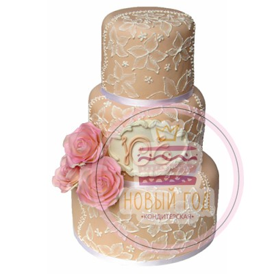 Свадебный торт «Леди Розанна»