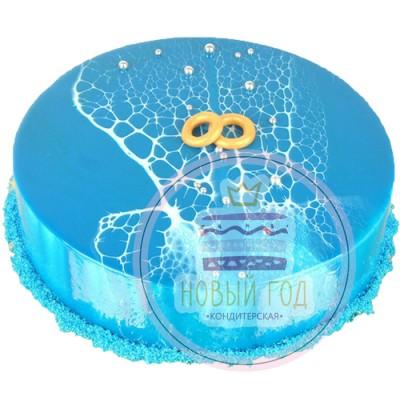 Торт на годовщину свадьбы «Семейное древо»