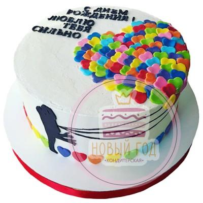 Торт «Влюбленные»