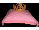 Торт с короной на подушке для девочки на 15 лет