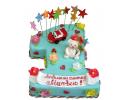 Торт «Нам 1 год»