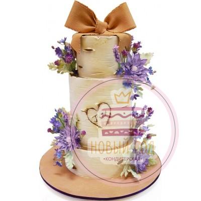 Торт «Весенний цвет»