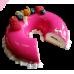 Торт Зеркальный «Малина»
