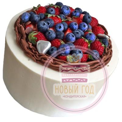 Торт «Ягодное лукошко»