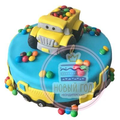 Торт «Грузовик»