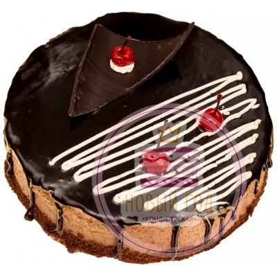 Торт «Пьяная вишня в шоколаде»