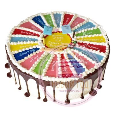 Торт «До свидания, школа»