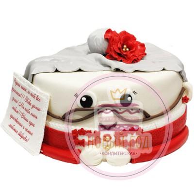 Торт в виде бабушки