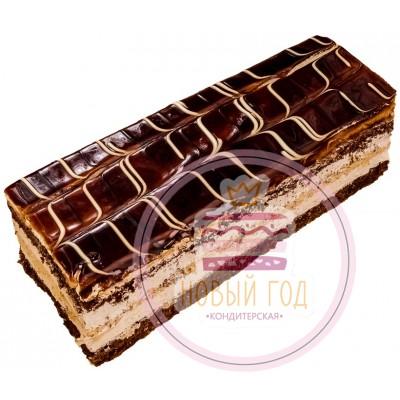 Торт нарезной «Карамельно-грушевый»