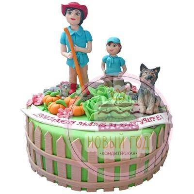 Торт «Дачный участок»