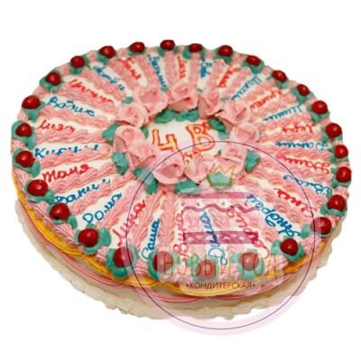 Торт «Вишенки»