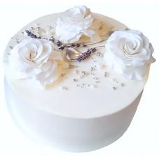Свадебный торт «Три розы»
