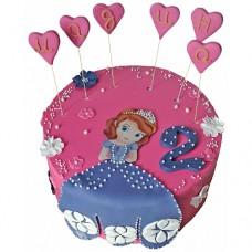 Торт «Принцесса София»
