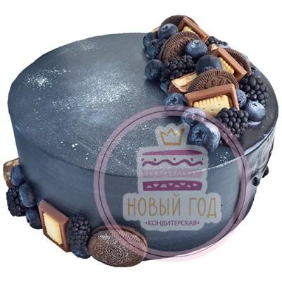 Космический торт со сладостями