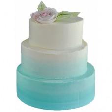 Свадебный торт «Градиент»