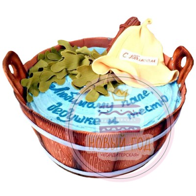 Банный торт для мужчины