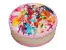 Торт с картинкой Фей Винкс