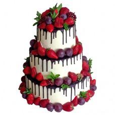 Торт «Ягодная нега»