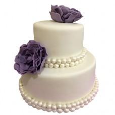 Торт «Жемчужная свадьба»