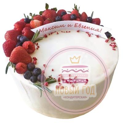 Торт «Обручальное кольцо»