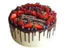 Торт с ягодами на 8 марта