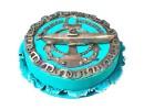 Торт для капитана на день рождения