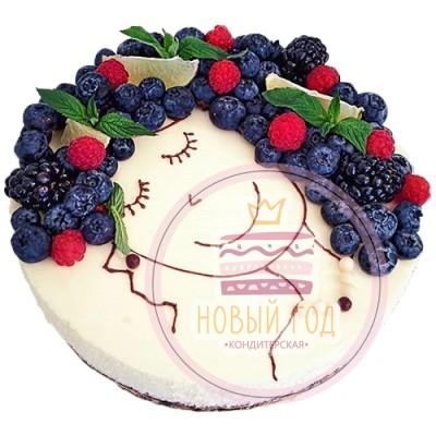 Торт для девушки «Твой образ»