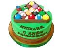 Торт «Бильярд»