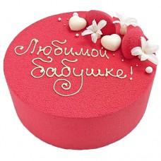 Велюровый торт для бабушки