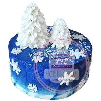Торт «Сказочная зима»