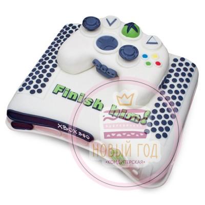 Торт в виде приставки XBOX