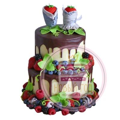 Торт «Свежие ягоды»