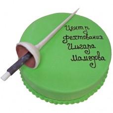 Торт для центра фехтования