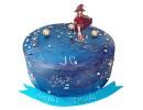 Торт «Аниме» в космическом стиле
