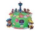 Торт «Щенячий патруль» с башней спасателей