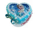 Торт-сердце «Эльза»