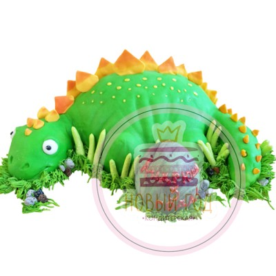 Торт «Динозавр с яйцом»
