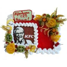 Торт для «KFC» на 23 февраля