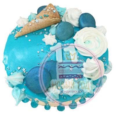 Торт на 11 лет кремовый
