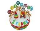 Торт со Степашкой на 1 год