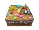 Торт «Песочница» для мужчины