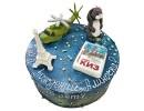 Космический торт для девочки на 15 лет