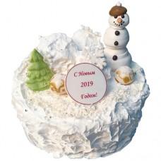 Торт «Снежный вечер»