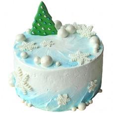 Торт «Снежная жемчужина»