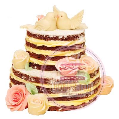 Открытый торт «Преданность»