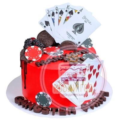 Торт «Покер»